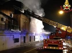L'incendio all'ippodromo (inserita in galleria)
