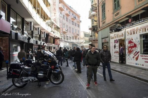 La città di Sanremo durante il festival  (inserita in galleria)