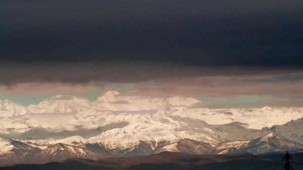Le Alpi viste da Busto (inserita in galleria)