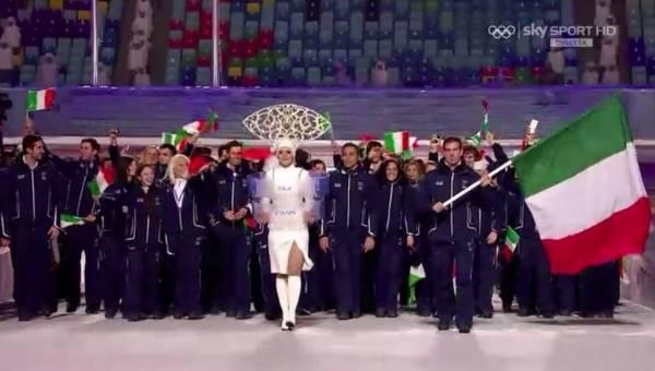 Olimpiadi di Sochi: Arrivano le squadre (inserita in galleria)