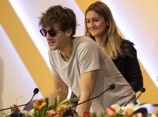 Paolo Nutini in conferenza stampa, Sanremo 2014 (inserita in galleria)