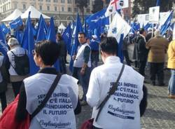 Roma, i piccoli imprenditori scendono in piazza (inserita in galleria)
