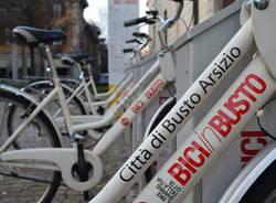 bike sharing bici in busto arsizio