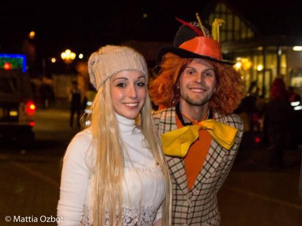 Carnevale in notturna a Laveno (inserita in galleria)