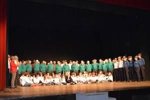 coro alpini e Blooming Kids di Varese fondazione ponte del sorriso