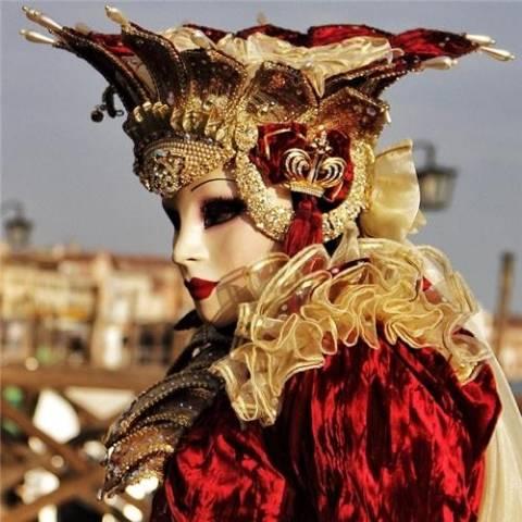 Facce da carnevale (inserita in galleria)
