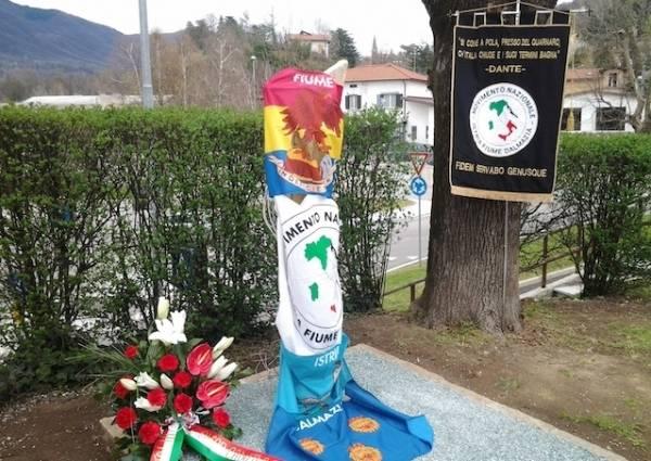 Gemonio ricorda le vittime delle foibe (inserita in galleria)
