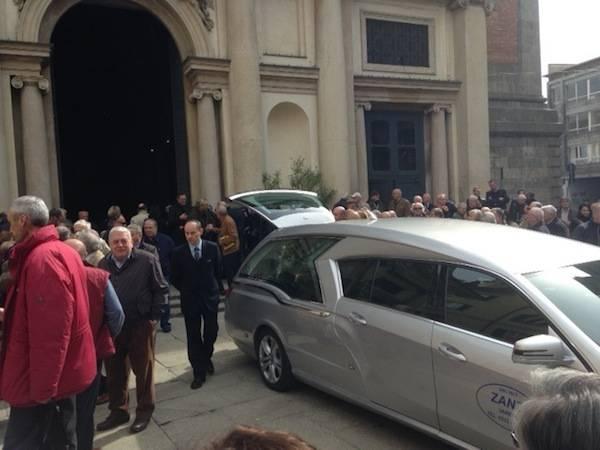 I funerali di Giancarlo Gualco  (inserita in galleria)