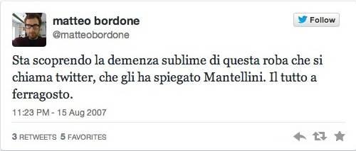 I primi tweet dei varesini (inserita in galleria)