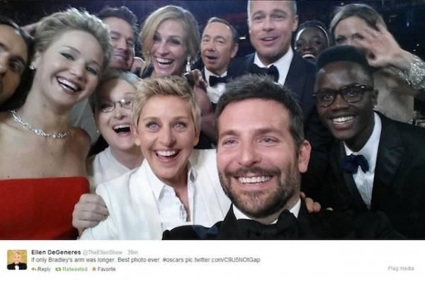 I selfie degli Oscar (inserita in galleria)