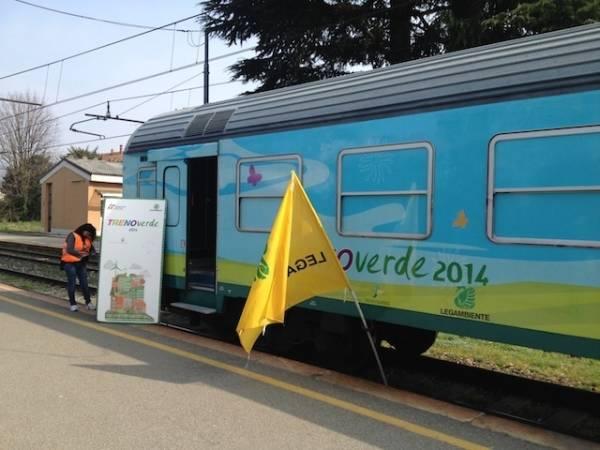 Il treno verde di Legambiente (inserita in galleria)