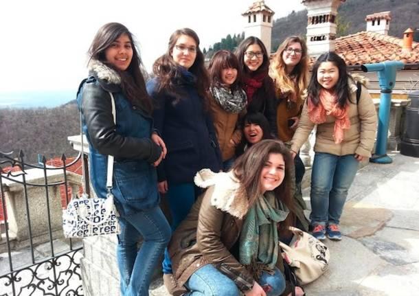 intercultura studenti in visita
