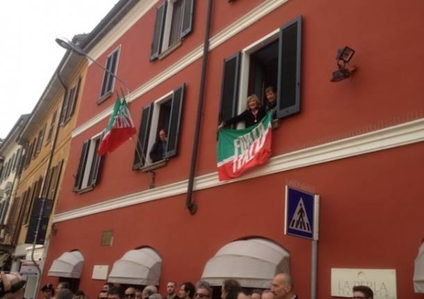 L'inaugurazione della sede di Forza Italia (inserita in galleria)