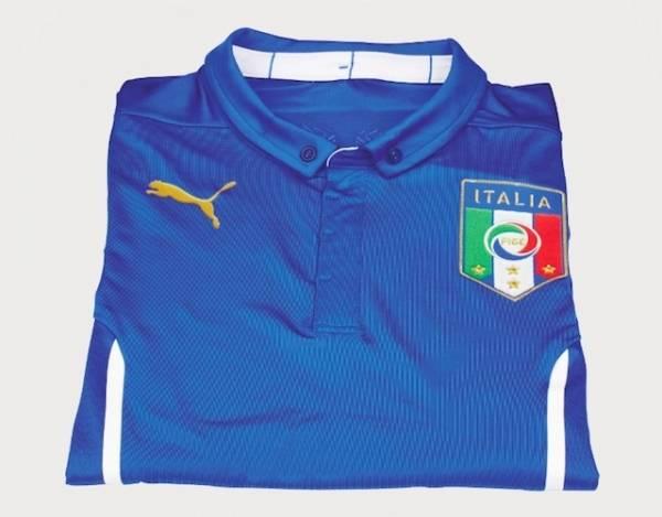 La nuova maglia della Nazionale italiana (inserita in galleria)