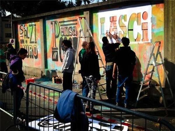 La prima giornata di Street Art a Busto Arsizio  (inserita in galleria)