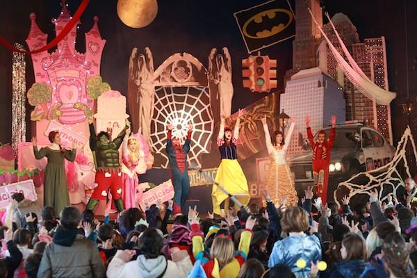 Lo spettacolo di Carnevale al Melo (inserita in galleria)
