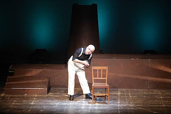Paolo Cevoli al teatro Apollonio (inserita in galleria)