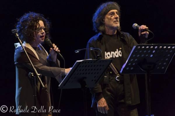 PFM e Antonella Ruggiero in concerto agli Arcimboldi  (inserita in galleria)