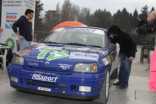 Rally - La partenza dai Giardini Estensi (inserita in galleria)