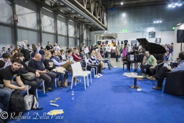 Saturnino ospite alla Fiera Milano Rho (inserita in galleria)