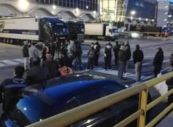 Sciopero alla Cargo City di Malpensa (inserita in galleria)