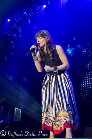 Alessandra Amoroso in concerto al Forum di Assago  (inserita in galleria)