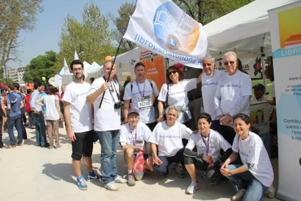"""Alla Maratona per il """"Libro Parlato"""" (inserita in galleria)"""