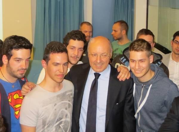 Beppe Marotta all'Università dell'Insubria (inserita in galleria)