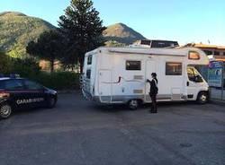 camper laveno foto carabinieri