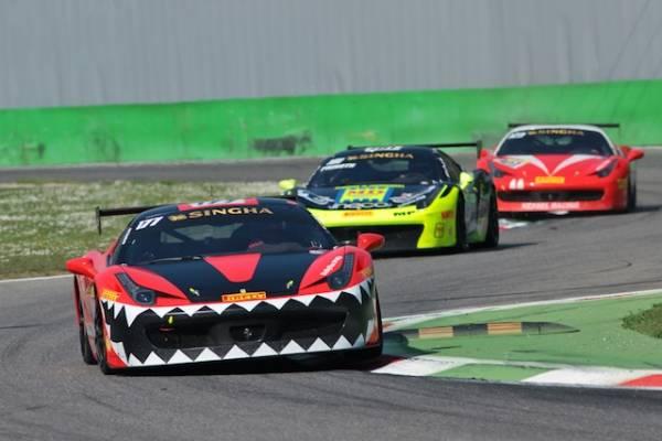Il Ferrari Challenge fa tappa a Monza (inserita in galleria)