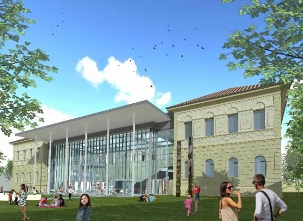 Il progetto per la nuova biblioteca di Gallarate (inserita in galleria)