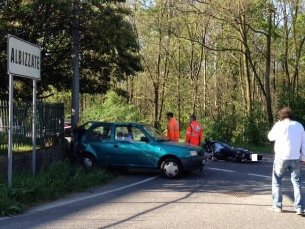 Incidente stradale ad Albizzate  (inserita in galleria)