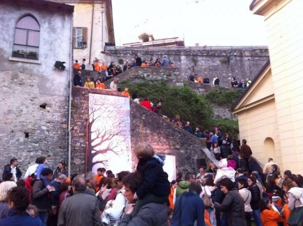 L'albero della pace a Casciago (inserita in galleria)
