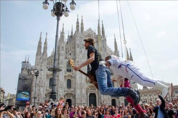 Performance milanese per i Sonhora (inserita in galleria)