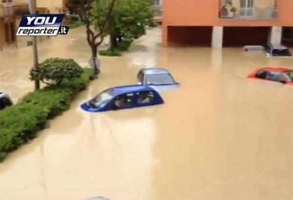 Alluvione a Senigallia (inserita in galleria)