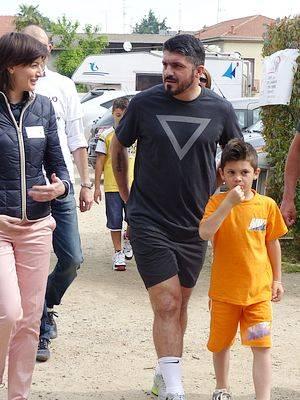 Camminata delle famiglie con Gennaro Gattuso (inserita in galleria)