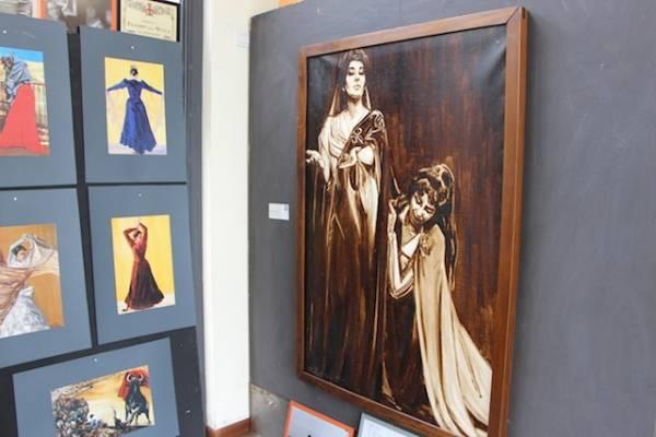 Dolores Puthod, 80 ann dedicati alla pittura (inserita in galleria)
