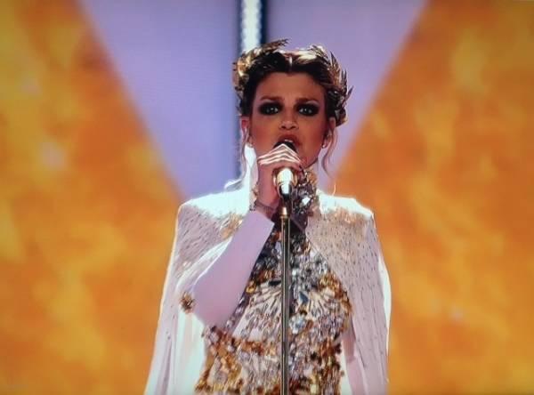 Eurosong: l'esibizione di Emma Marrone (inserita in galleria)