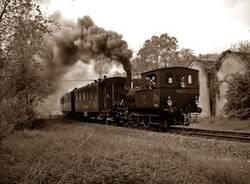 ferrovia valmorea treno a vapore