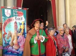 Festa a San Vittore con le contrade del palio (inserita in galleria)