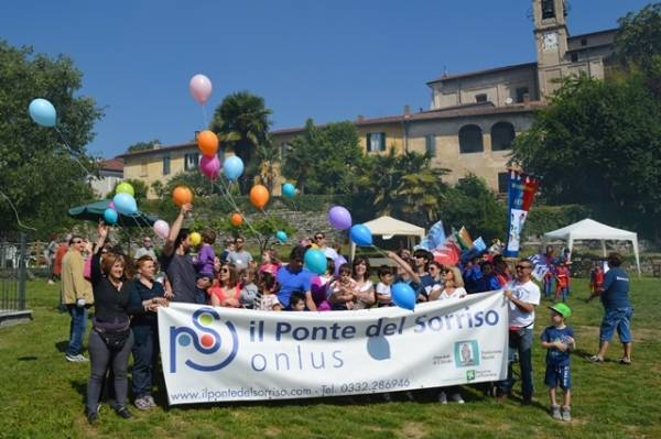 Festa per il Ponte del Sorriso a Besozzo (inserita in galleria)