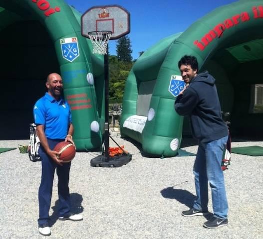 Golf e Basket protagonisti ai giardini estensi (inserita in galleria)