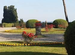 i giardini del Comune di Casciago