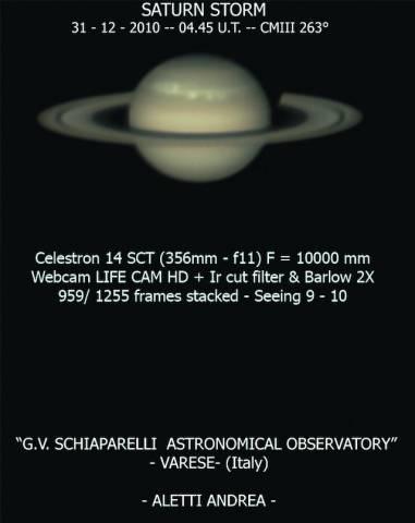 L'opposizione di Saturno (inserita in galleria)