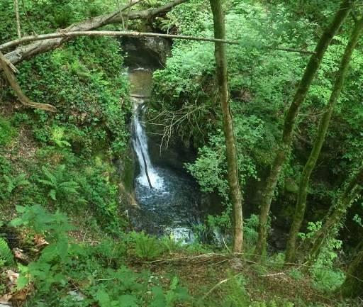 La cascata del Vellone (inserita in galleria)