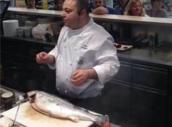 La lezione di cucina di Silvio Battistoni (inserita in galleria)