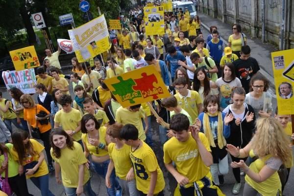 La Marcia della Legalità (inserita in galleria)
