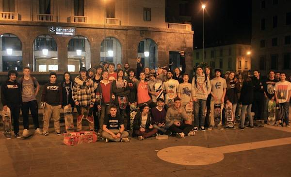 "Le ""Cruisin' Nights"" degli skater (inserita in galleria)"