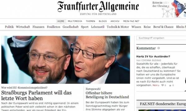 Le elezioni europee nei giornali stranieri (inserita in galleria)