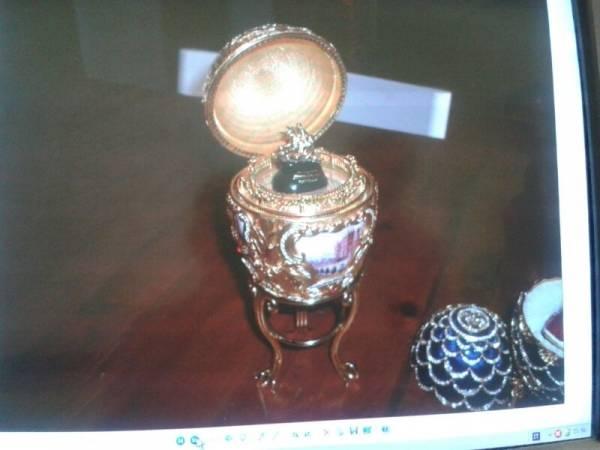 Le foto delle uova di Faberge (inserita in galleria)